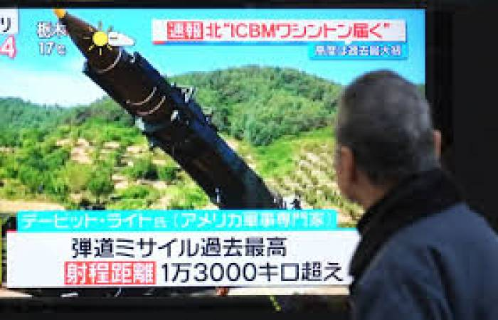 Fausse alerte au missile nord-coréen de la télévision japonaise