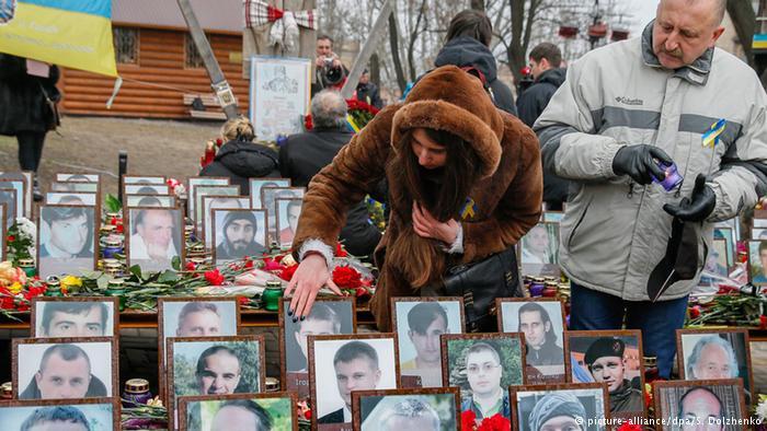Ukrainians mark two years since Maidan protests