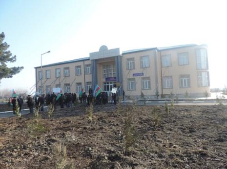 Ağsuda yeni məktəb binası istifadəyə verildi
