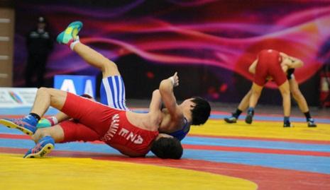Gəncə güləşçiləri turnirdə 2 qızıl medal qazandı