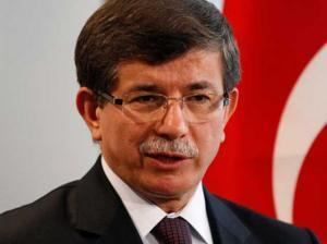 Turkish PM Ahmet Davutoglu arrives in Azerbaijan for official visit