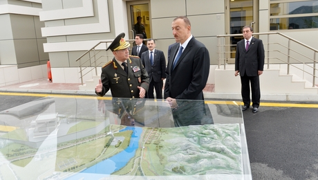 President Ilham Aliyev visits Mingachevir city -VIDEO