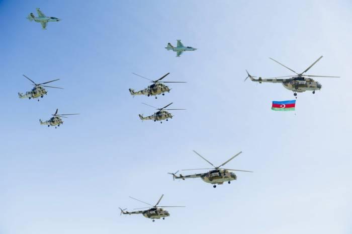 Naxçıvandakı hərbi paraddan yeni görüntülər - VİDEO