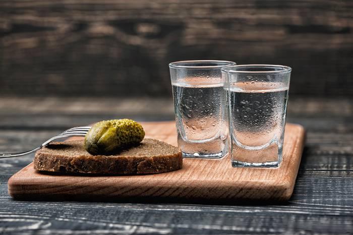 La vodka est l'un des deux seuls produits sûrs en Russie, selon les autorités