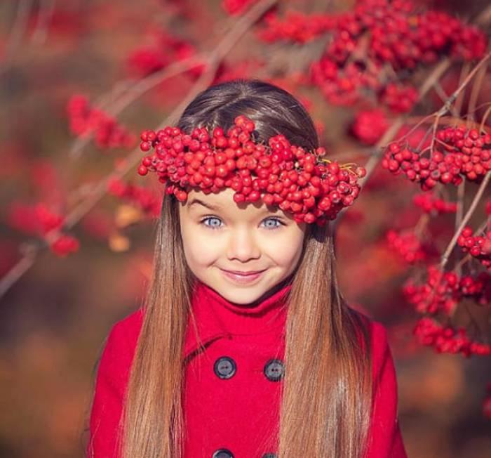 «La plus jolie petite fille du monde», c'est Anastasia - PHOTOS