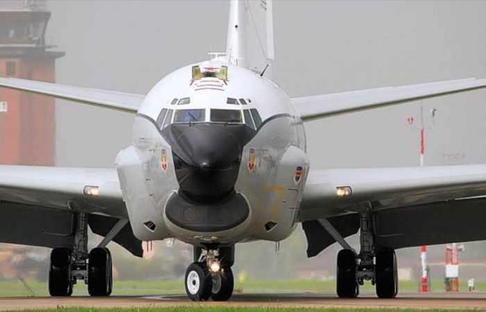 EEUU envía un avión espía a la península de Corea