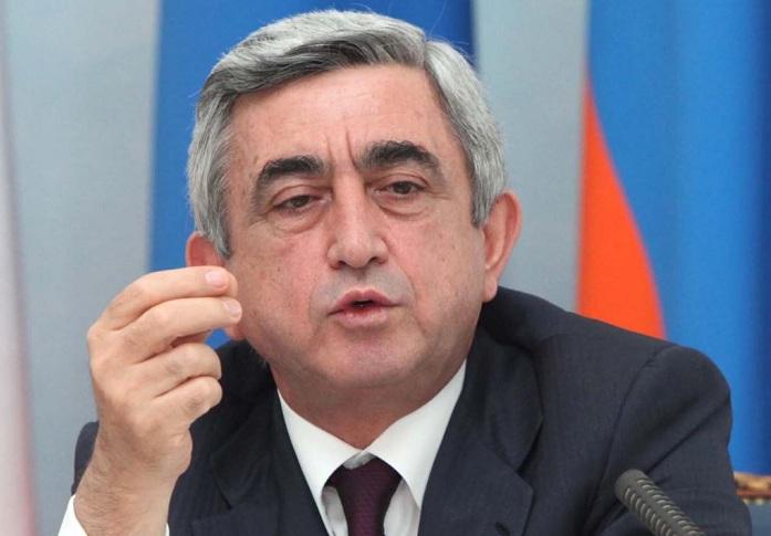 Sarkisyan Fransada İranın Qarabağ mövqeyindən danışdı