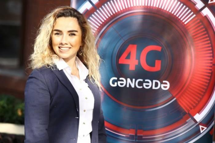 """""""Bakcell"""" Gəncədə 4G xidmətini təqdim edib"""