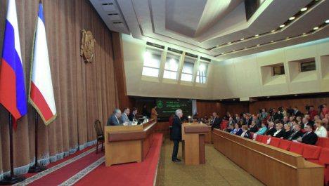 Krım Luqansk və Donetski dəstəklədi