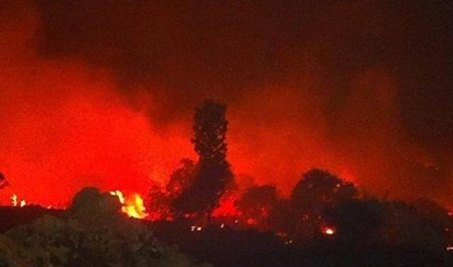 Qocalar evi yandı: 8 ölü, 18 yaralı