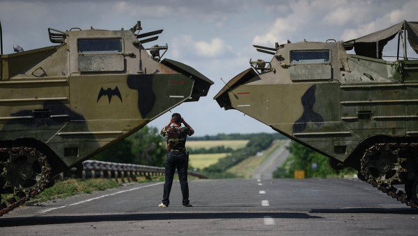 Ukraynada separatçılara ağır zərbə: 30 nəfər