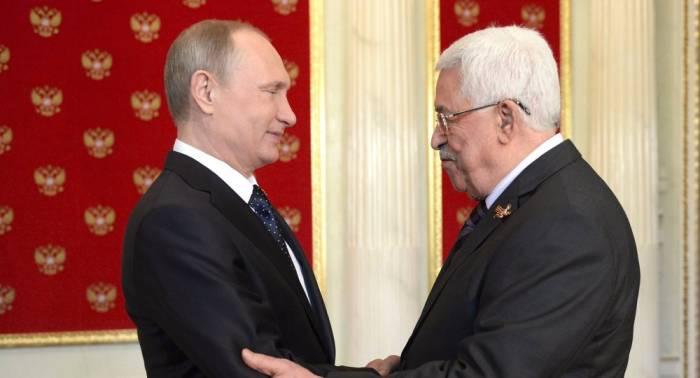 Putin Fələstin prezidenti ilə görüşəcək