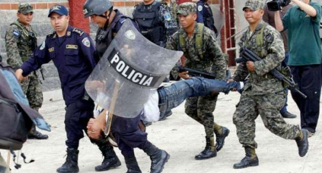 Honduras government declares curfew amid election unrest