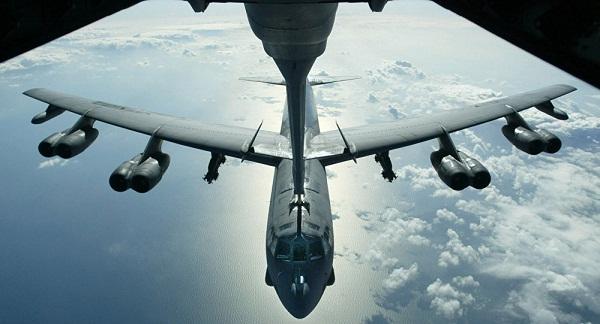 Les USA lancent leurs B-52 contre Daech