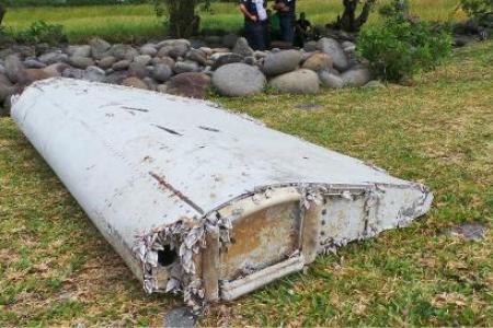 Un possible débris du MH370 sur une île de l`océan Indien
