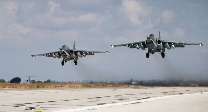 Russian MoD announces its combat jets have taken out 7 Daesh commanders in Syria