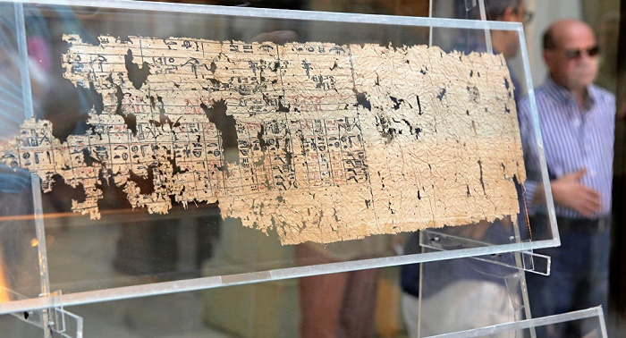 Oldest ever Egyptian Papyri put on display in Cairo`s museum