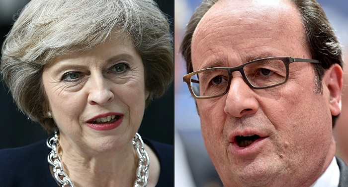 British PM May in Paris to revive Entente cordiale after Brexit