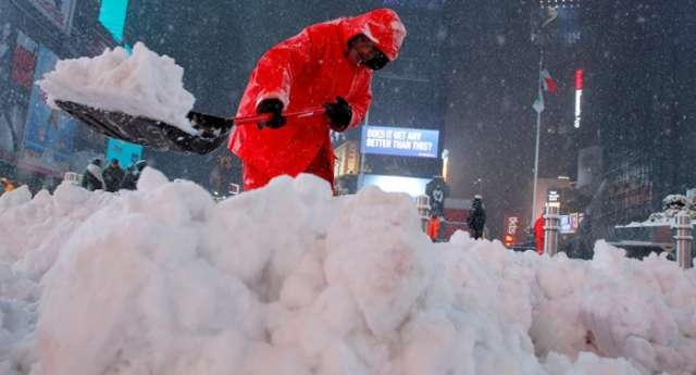New York governor declares State of Emergency due to powerful snowstorm