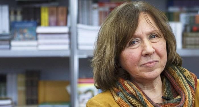 La Nobel de literatura 2015 Svetlana Alexiévich desmiente información sobre su muerte