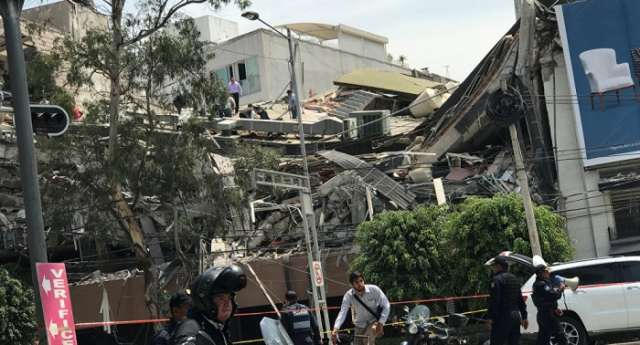 22 children found dead after massive Mexico earthquake causes school to collapse