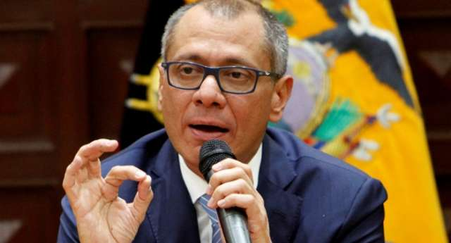 Ecuadorian Vice President arrested on corruption charges
