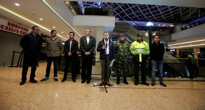 Santos: no hay indicios claros de responsables de atentado en Bogotá