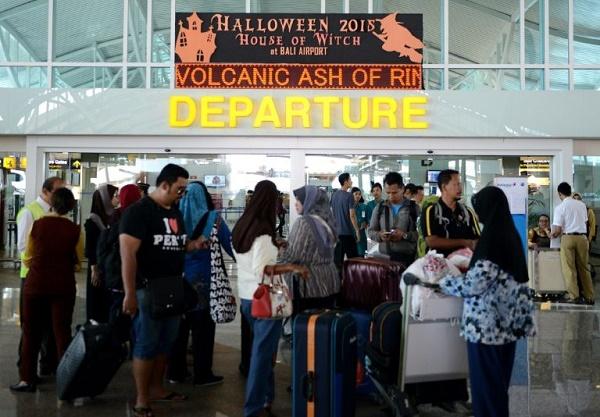Vols annulés : des centaines de touristes bloqués à Bali