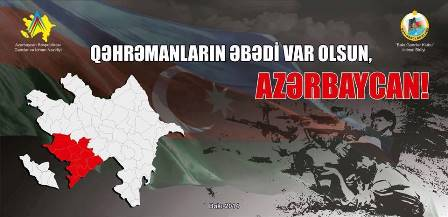 """""""Qəhrəmanların əbədi var olsun - Azərbaycan!"""" layihəsi başladı"""