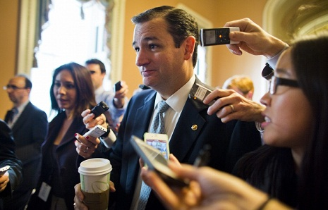 Media: senator Ted Cruz to announce presidential bid on Monday