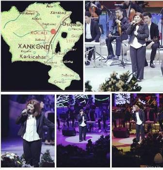 Əməkdar artist Xankəndinin işğal günü konsert verdi - FOTO