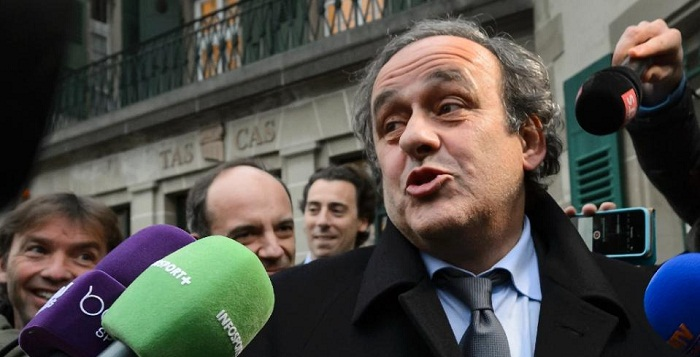 Michel Platini appeals soccer ban to CAS