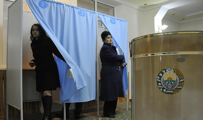 Uzbekistan forms voting districts for upcoming presidential elections