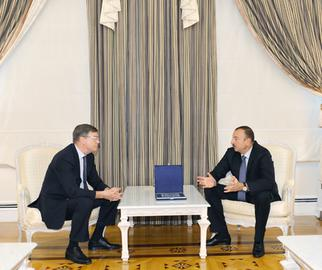 President receives Russian ambassador to Azerbaijan