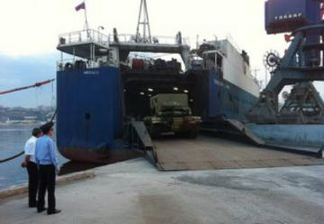 Russia delivers arms for Azerbaijani army