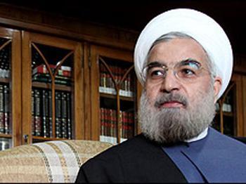 Hassan Rouhani thanks Azerbaijani President