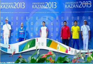Azerbaijani wrestler wins gold of the Universiade