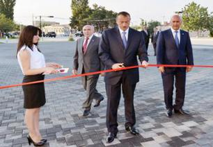 President attends opening of Heydar Aliyev Center in Siyazan