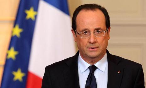 Hollande: France appreciates and supports Azerbaijan`s territorial integrity