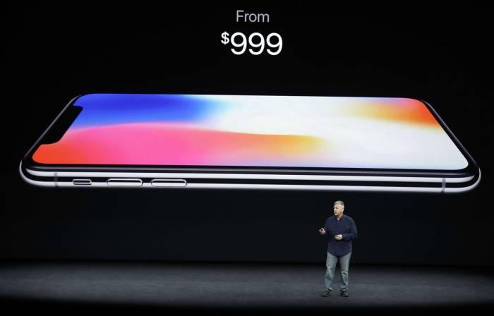 Le prix de l'iPhone X alimente toutes les discussions