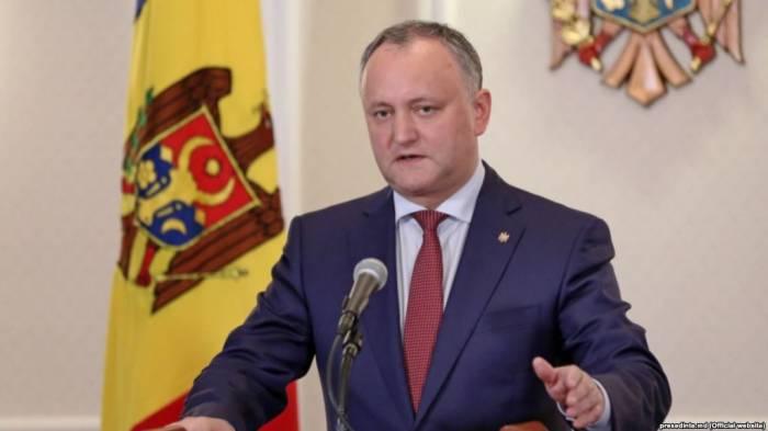 Moldova prezidenti Azərbaycana gəlir