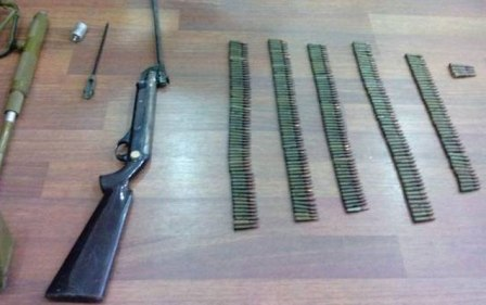 Zavodda külli miqdarda silah-sursat tapıldı