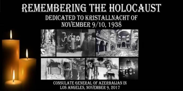 Los Ancelesdə Holokost və Xocalı anılıb - Fotolar