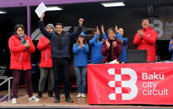 """""""Formula-1"""" çempionatının Füzuli yarışının qalibi müəyyənləşib"""