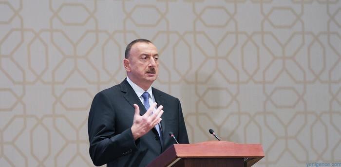 `Avropa-Azərbaycan əlaqələrini pozmaq istəyirlər` - İlham Əliyev