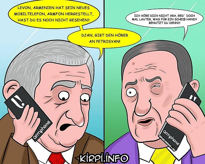 Armeniens neues Armphone