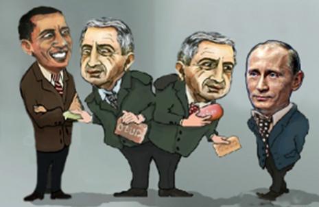 """Qərb və Rusiya Sarkisyanı """"sildilər""""- TƏHLİL"""