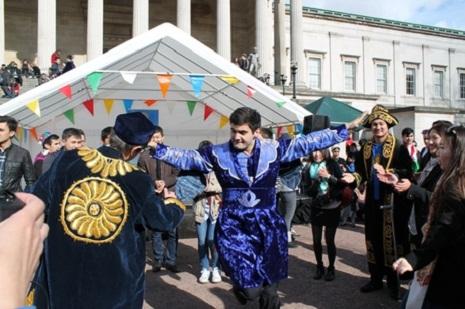 Londonda keçirilən Novruz festivalından FOTOLAR
