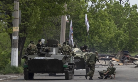 Ukraynalılar separatçıların bazasını məhv edib