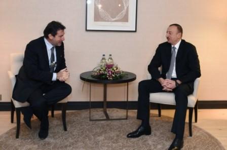İlham Əliyev Davosda görüşlər keçirir - Yenilənib